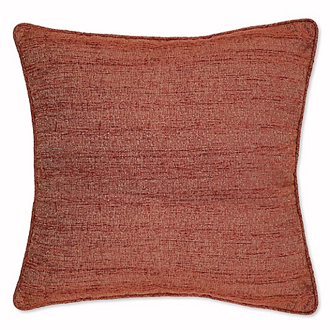 Throw Pillow Rust : Buy Snapshot Square Throw Pillow in Rust from Bed Bath & Beyond