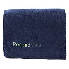 Image Of Waterproof Bedwetting Incontinence Mattress Protector Pad In Navy