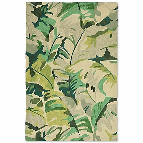 Liorra Manne Capri Palm Leaf Indoor Outdoor Rug Bed Bath U0026 Beyond