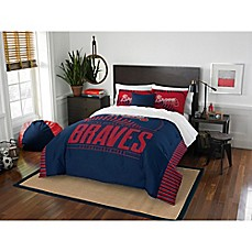 image of MLB Atlanta Braves Grand Slam Comforter Set