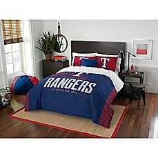 image of MLB Texas Rangers Grand Slam Comforter Set