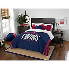 image of MLB Minnesota Twins Grand Slam Comforter Set