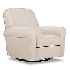 image of DaVinci Ruby Recliner and Glider in Cream