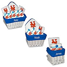 Personalized gift sets buybuy baby image of designs by chad and jake mlb personalized new york mets baby gift basket negle Images
