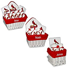 Personalized gift sets buybuy baby image of designs by chad and jake mlb personalized st louis cardinals baby gift basket negle Images