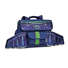 image of Bixbee Space Racer Backpack in Blue/Green