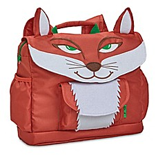 image of Bixbee Fox Pack Backpack in Red/White