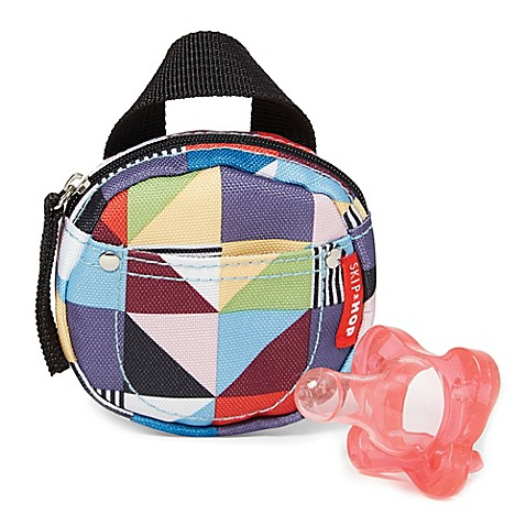 Skip Hop Grab & Go Pacifier Pocket in Prism Print - Bed Bath & Beyond