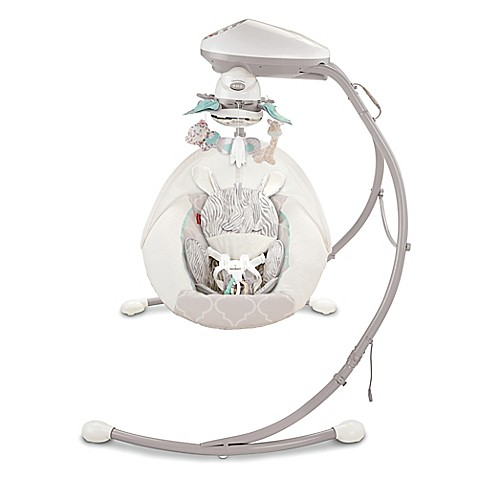 Fisher-Price® Cradle 'n Swing in Safari Dreams - Bed Bath & Beyond
