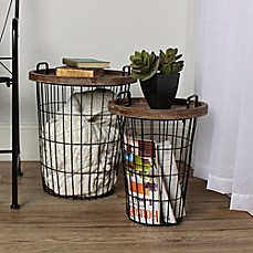 image of Kate and Laurel Tenby 2-Piece Accent Table Set