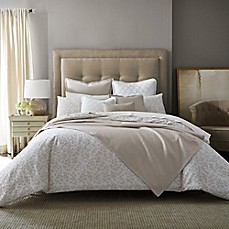 image of Barbara Barry Feathered Floral Mini Comforter Set