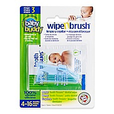 image of Baby Buddy Wipe-N-Brush in Blue