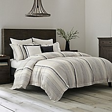 image of Wamsutta Collection® Monaco Duvet Cover in Slate/White