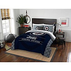 image of NHL Winnipeg Jets Draft Comforter Set