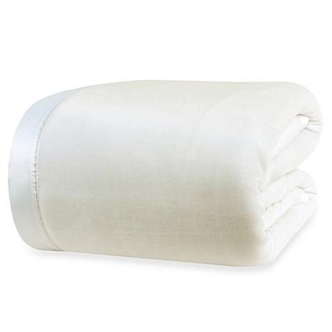 Berkshire Blanket® Velvet Loft Twin Blanket in Cream
