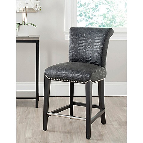 Safavieh Seth Bar And Counter Stools Bed Bath Amp Beyond