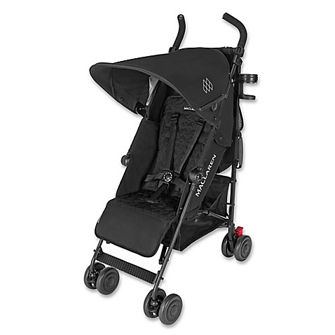 lightweight strollers maclaren quest style set stroller in black black from buy buy baby. Black Bedroom Furniture Sets. Home Design Ideas