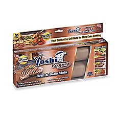 image of Yoshi Copper Grill and Bake Mats (Set of 2)
