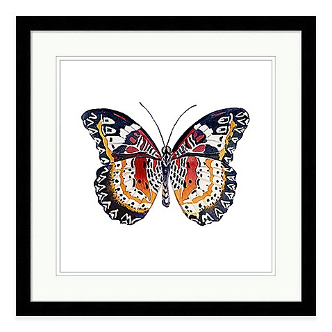 Butterfly I Extra-Large Framed Wall Art - Bed Bath & Beyond