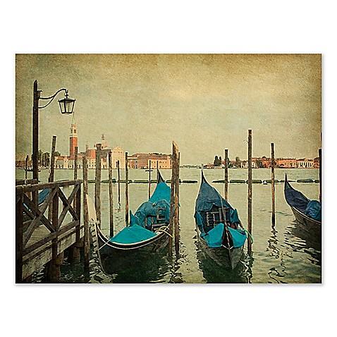 Venice Dock Canvas Wall Art - Bed Bath & Beyond