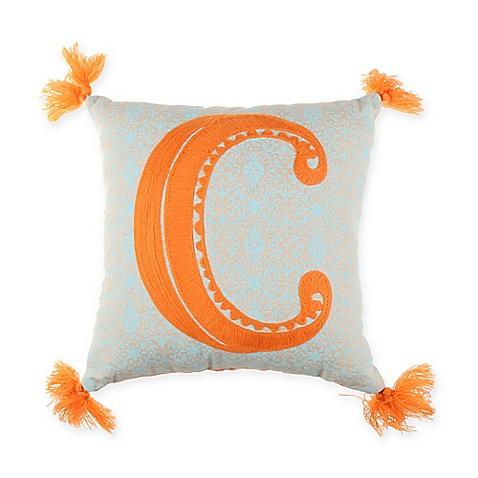 Letter P Throw Pillow : Buy Monogram Letter