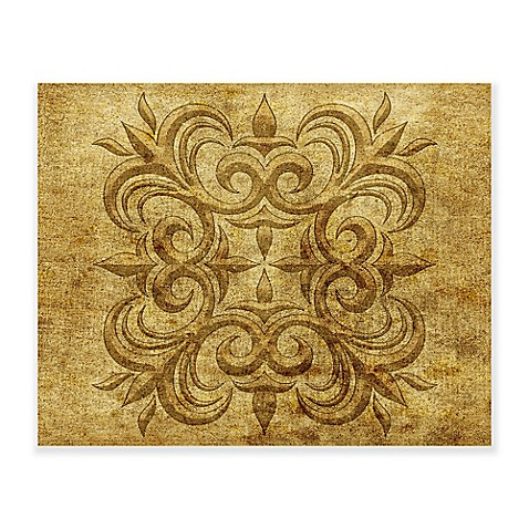 Gold Stencil Wall Art Collection - Bed Bath & Beyond