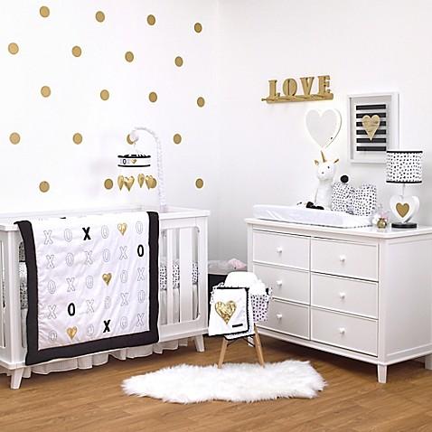xoxo furniture. NoJo\u0026reg; XOXO 4-Piece Crib Bedding Set Xoxo Furniture
