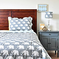 image of Pam Grace Creations Indie Elephant Quilt Set