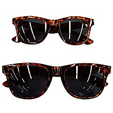 image of Tiny Treasures Mommy & Me 2-Piece Sunglasses Set in Tortoiseshell Brown