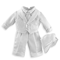 image of Boy's Christening Suit with Long Pants by Lauren Madison