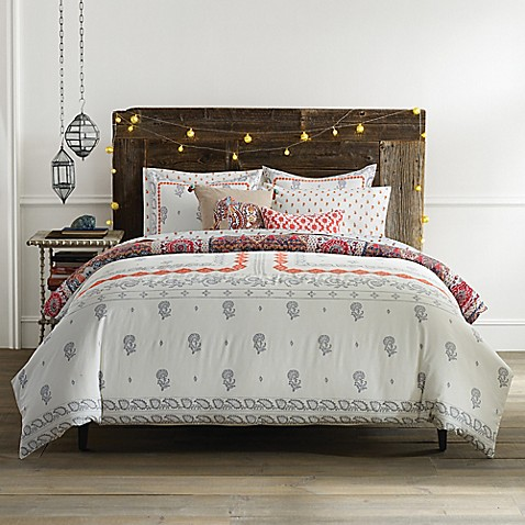Anthology jodhpur reversible comforter set bed bath - Bed bath and beyond bedroom furniture ...