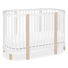 image of babyletto hula convertible oval cribmini bassinet in