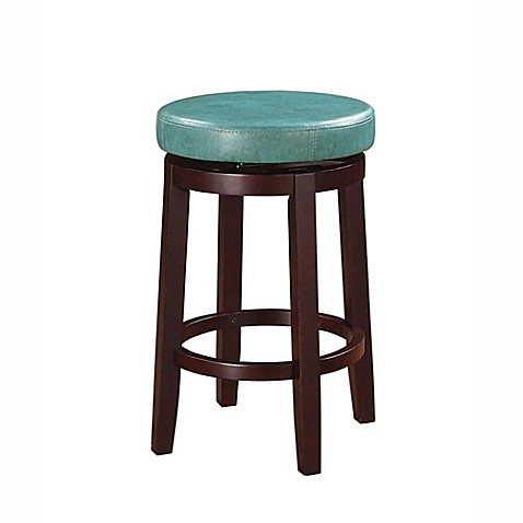 Buy Maya Swivel Counter Stool In Teal From Bed Bath Amp Beyond