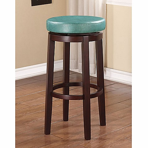 Buy Maya Swivel Barstool In Teal From Bed Bath Amp Beyond