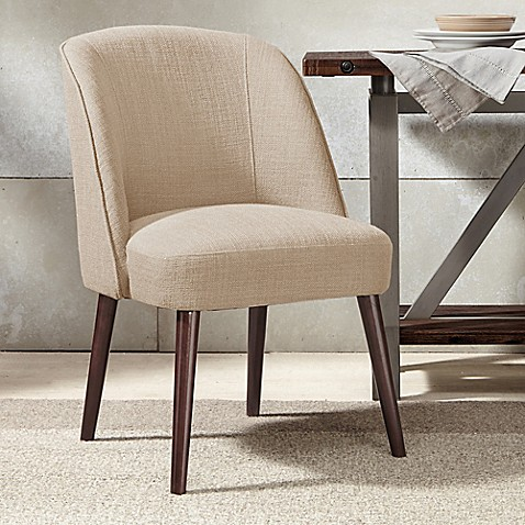 Madison Park Bexley Rounded Back Dining Chair Bed Bath
