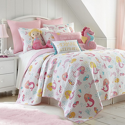 Levtex Home Joelle Reversible Quilt Set In Pink Bed Bath Beyond