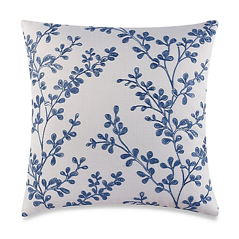 Buy Make-Your-Own-Pillow Baby Buttons Throw Pillow Cover in Blue from Bed Bath & Beyond