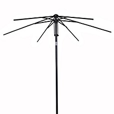image of 7.5-Foot Round Steel Umbrella Frame with Fabric Bag