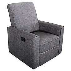 image of Abbyson Living® Emma Nursery Swivel Glider Recliner