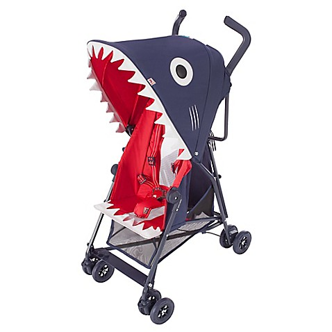 Maclaren shark stroller in blue red bed bath beyond - Sacos para silla maclaren ...