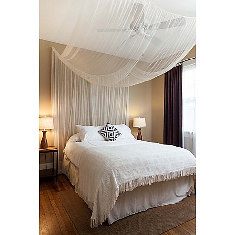 Buy Cirrus Galaxie 4 Poster Bed Canopy In Ivory From Bed