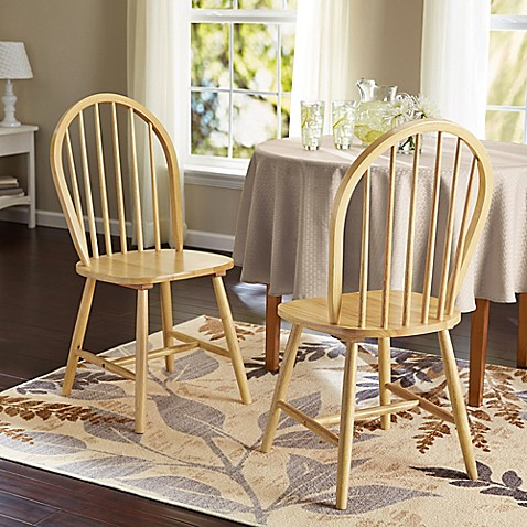Windsor Dining Chairs (Set of 2) - Bed Bath & Beyond