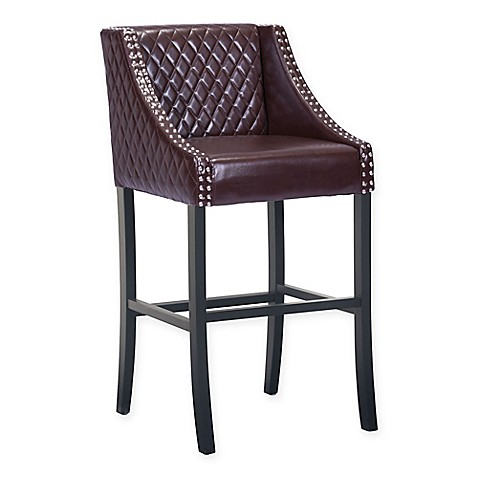 Zuo Modern Santa Ana Quilted Bar And Counter Chair Collection Bed Bath Beyond