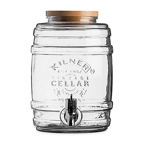 Kilner Barrel 5-Liter Beverage Dispenser