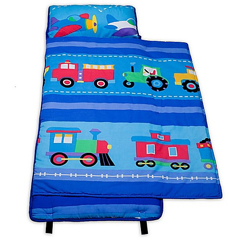 Buy Olive Kids Trains Planes 100 Cotton Nap Mat In Blue