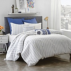 image of Under the Canopy® Amalfi Stripe Duvet Cover Set