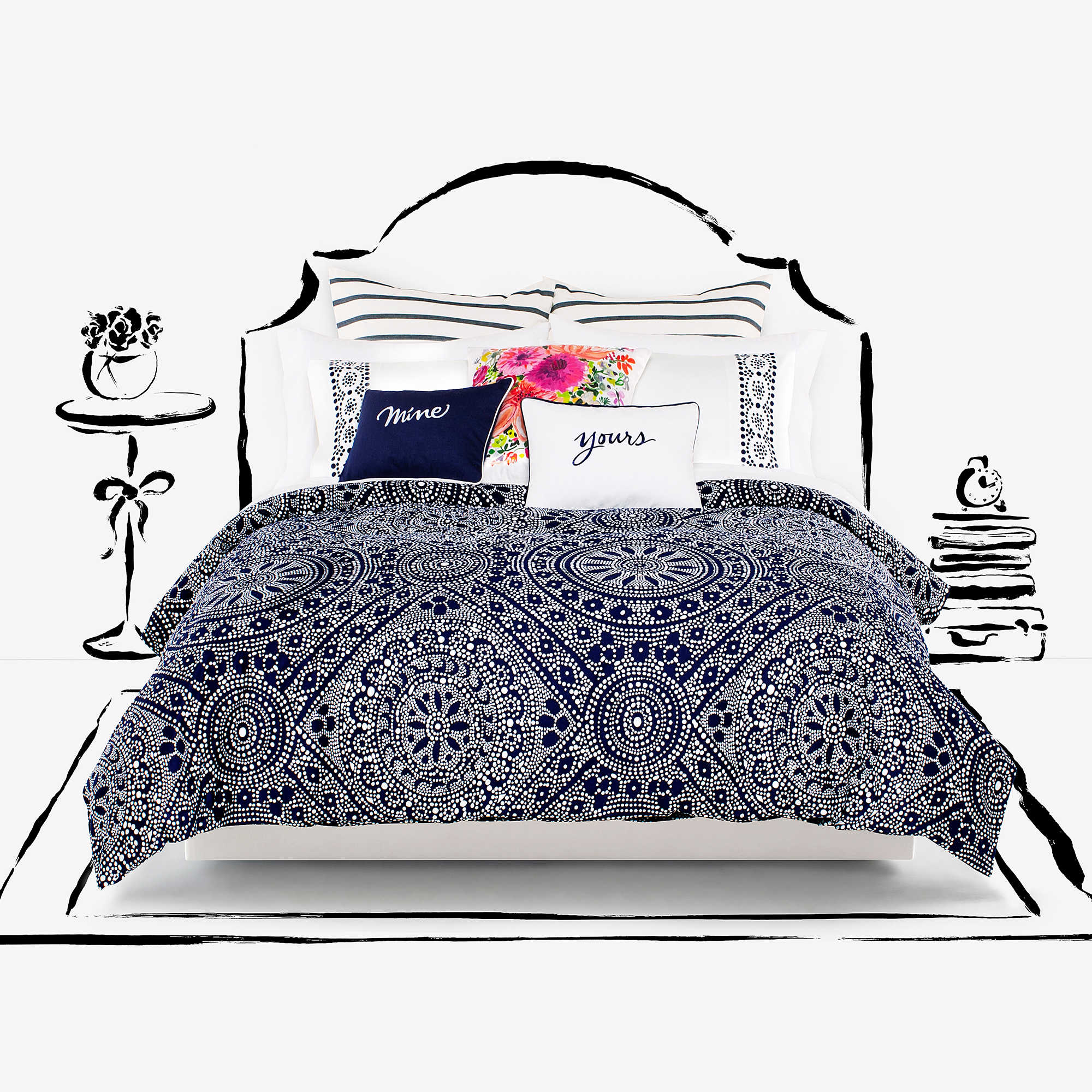 com awesome duvet urban damask mayamia sky of ikat org wonderful ideas medallion covers gray cover theamphletts collection barn blue