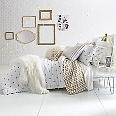 image of Glam Polka Dot Reversible Comforter Set