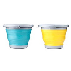 image of Kikkerland® 5-Liter Collapsible Bucket
