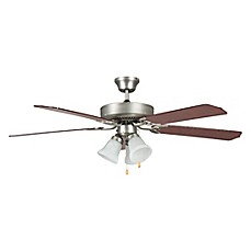 image of Concord Heritage Series 52-Inch 3-Light Ceiling Fan